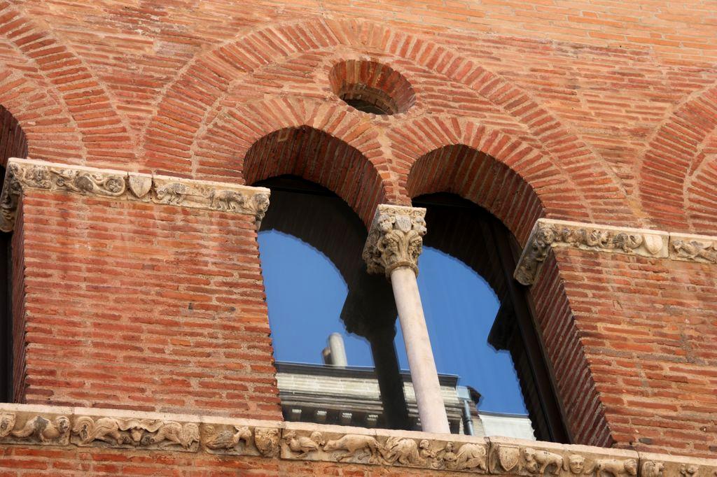 Toulouse et la brique for Brique facade maison