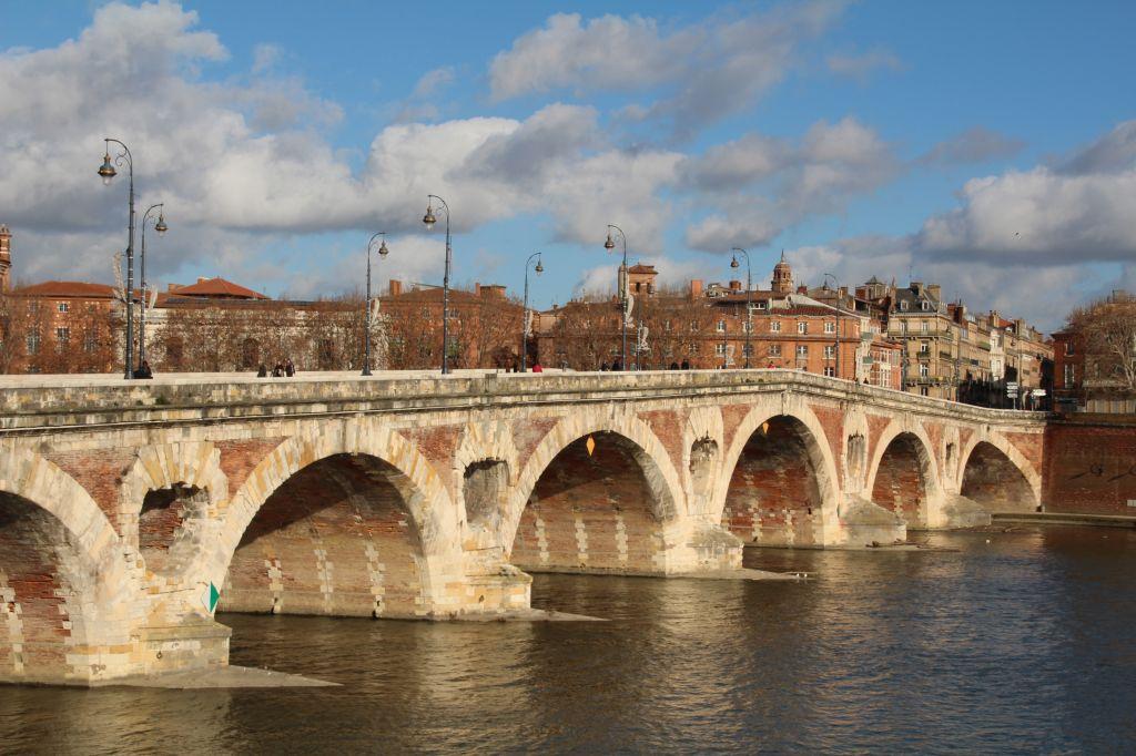 Toulouse et la brique for Balade sur la garonne toulouse